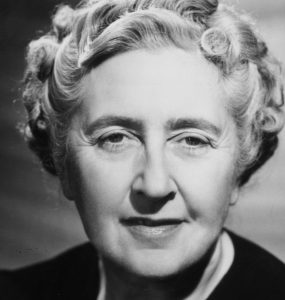 Image Of Author Agatha Christie