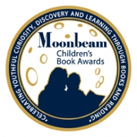 An image of the Gold Moonbeam Children's Book Award