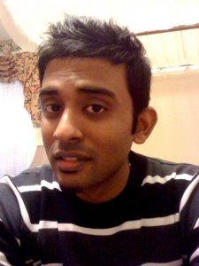 Photograph of author Najeev Raj Nadarajah