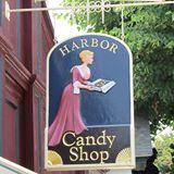 Image Of The Shop Sign At Ogunquit Harbor Candy Shop
