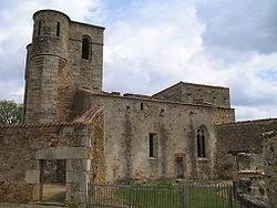 Image of Oradour-sur-Glane church