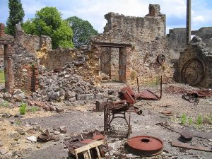 Image of Oradour-sur-Glane in ruins