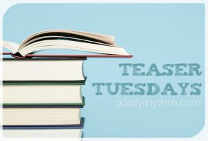 Teaser Tuesday Button - A Daily Rhythm