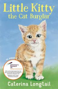 Cover Image Of Book - Little Kitty The Cat Burglar