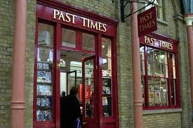 Image Of A 'Past Times' Shop Front