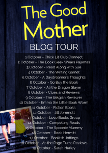 Graphic Of 'The Good Mother' Blog Tour by Karen Osman