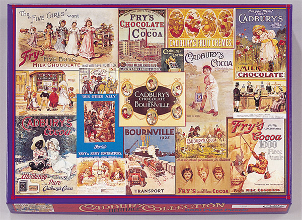Image A Gibsons Jigsaw Puzzle - The Cadbury 1000 Heritage Collection