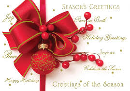 Image Of A Christmas Greetings Image