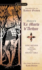 Cover Image Of 'Le Morte d'Arthur' By Sir Thomas Malory