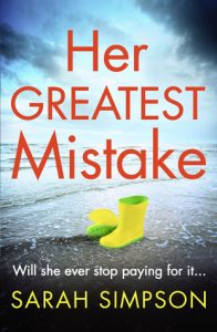 Cover Image Of The Book 'Her Greatest Mistake' By Sarah Simpson