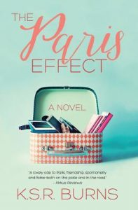 Cover Image Of The Book 'The Paris Effect' By Author K.S.R. Burns