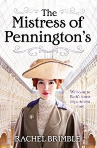 Cover Image Of The Book 'The Mistress Of Pennington's' By Author Rachel Brimble