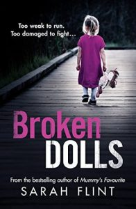 Cover Image Of The Book 'Broken Dolls' By Author Sarah Flint