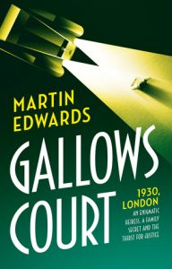 Cover Image Of The Book 'Gallows Court' By Author Martin Edwards