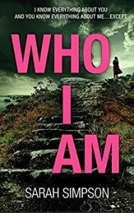 Cover Image Of The Book 'Who I Am' by Author Sarah Simpson