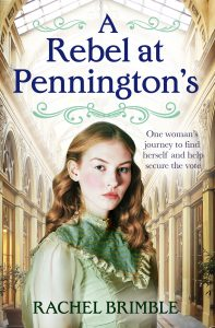 Cover Image Of The Book 'A Rebel At Pennington's' By Author Rachel Brimble