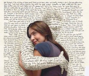 Image From Guest Post By Jennifer Wells - Person Hugging A Book