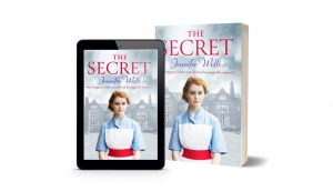 Dual Image Of Paperback Book And Kindle Download - 'The Secret' By Jennifer Wells