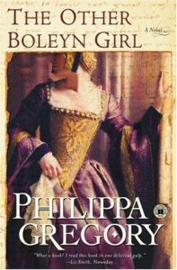 Cover image of the book 'The Other Boleyn Girl' by author Philippa Gregory
