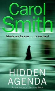 Cover image of the book 'Hidden Agenda' by author Carol Smith