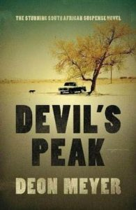 Cover image of the book 'Devil's Peak' by author Deon Meyer