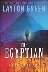 Cover image of the book 'The Egyptian' by author Layton Green
