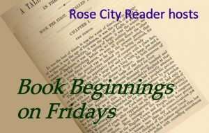 A picture button for book beginnings at Rose City Reader