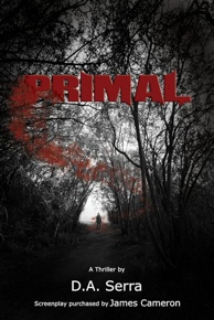 Cover Image for thriller novel 'Primal' by Deborah Serra