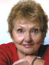 A photograph of Australian author Goldie Alexander