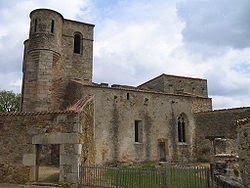Image of Oradour-sur-Glane church