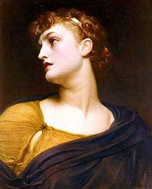 An Image Of Antigone, By Frederic Leighton