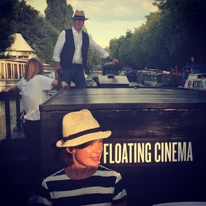 Image Of Author Hattie Holden Edmonds And Her Floating Cinema