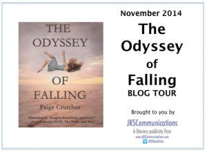 Blog Tour Graphic Paige Crutcher 'The Odyssey Of Falling'