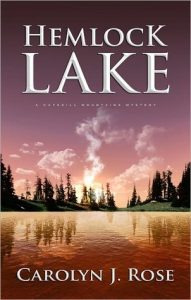 cover image of the book 'Hemlock Lake' by author Carolyn J. Rose