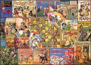 Image Of Box Falcon Deluxe Jigsaw Childhood Memories Games Of Yesteryear