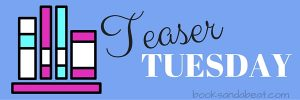 Books And A Beat Graphic For Teaser Tuesday