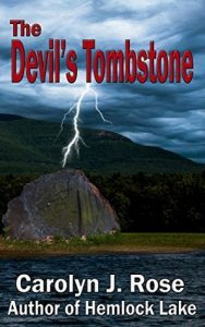 Cover image of the book 'The Devil's Tombstone' by author Carolyn J. Rose