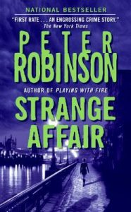 Cover image of the book 'Strange Affair' by author Peter Robinson