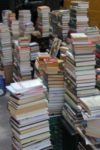 Image Of A Large Pile Of Books