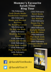 Blog Tour Banner Image 2 'Mummy's Favourite' by Suzanne Bugler