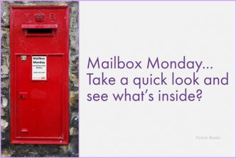 Image of a red letter box set in a wall. Featured image for Mailbox Monday meme