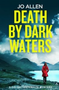 Cover image of the book 'Death By Dark Waters' by author Jo Allen
