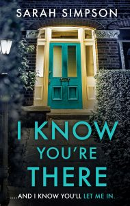 Cover image of the book 'I Know You're There' by author Sarah Simpson
