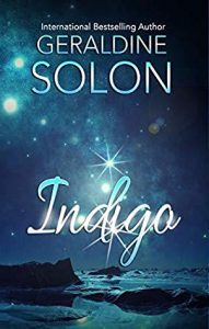 Cover image of the book 'Indigo' by author Geraldine Solon