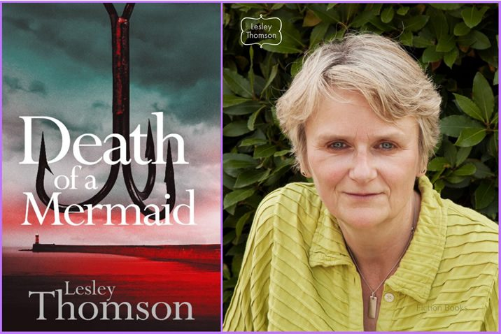 Featured Cover Reveal Image for the book 'Death Of A Mermaid' by the author Lesley Thomson