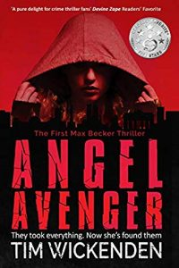 Cover image of the book 'Angel Avenger' by author Tim Wickenden