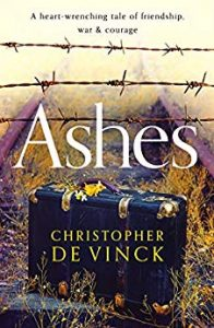 Cover image of the book 'Ashes' by author Christopher de Vinck