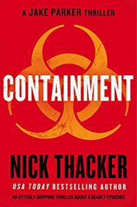 Cover image of the book 'Containment' by author Nick Thacker