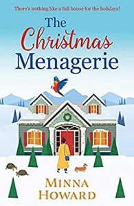 Cover image of the book 'The Christmas Menagerie' by author Minna Howard