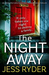 cover image of the book 'The Night Away' by author Jess Ryder